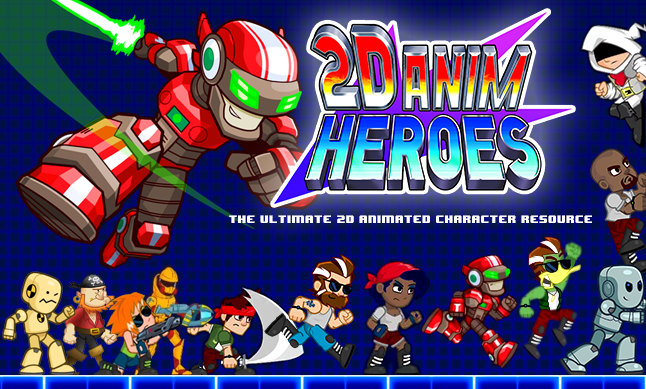 RELEASED] 2D Anim Heroes - Extensive set of 2D game
